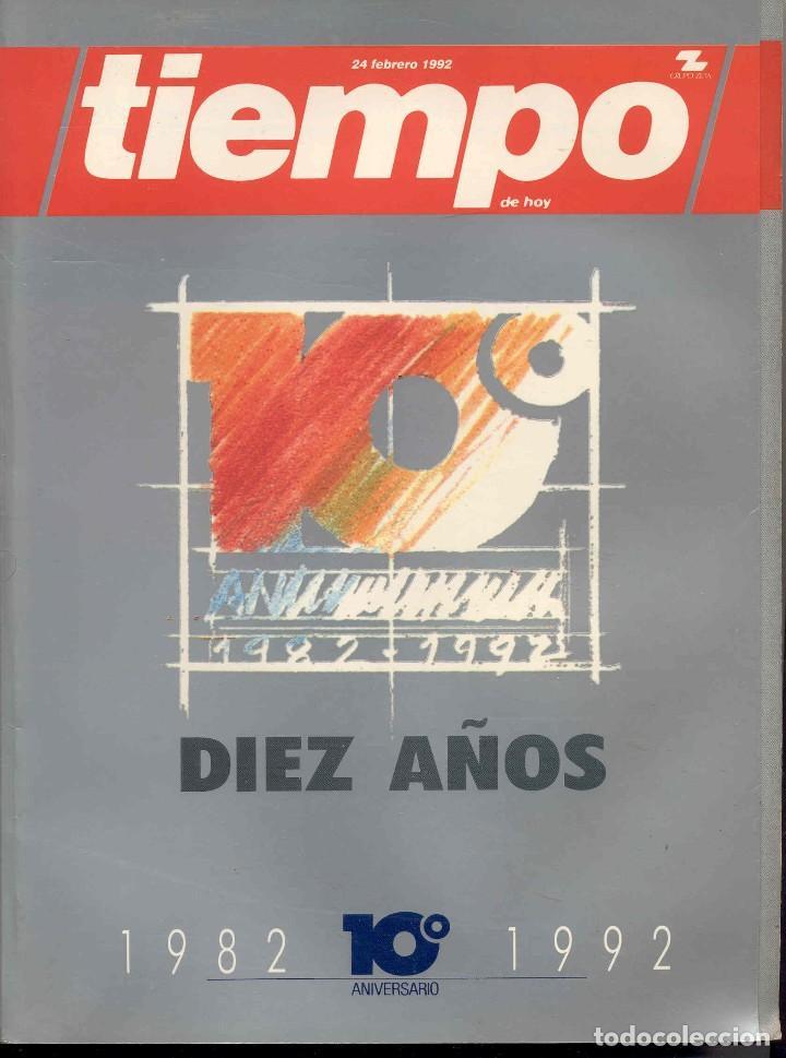 TIEMPO. REVISTA. NUMERO ESPECIAL 1982-1992 (Coleccionismo - Revistas y Periódicos Modernos (a partir de 1.940) - Revista Tiempo)