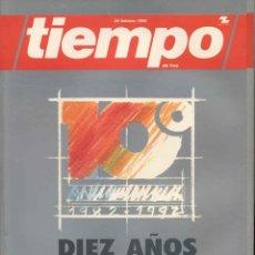 Coleccionismo de Revista Tiempo: TIEMPO. REVISTA. NUMERO ESPECIAL 1982-1992. Lote 62657528