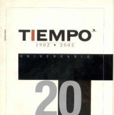 Coleccionismo de Revista Tiempo: TIEMPO. REVISTA. NUMERO ESPECIAL. 1982-2002. Lote 62657604