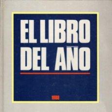 Coleccionismo de Revista Tiempo: TIEMPO, REVISTA. EL LIBRO DEL AÑO 1988. Lote 62657684