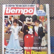 Coleccionismo de Revista Tiempo: REVISTA TIEMPO.NUM. 173 -AÑO 1985 : LA DISNEY JUEGA CON ESPAÑA- EX ETARRAS-ARZALLUS. Lote 62763700