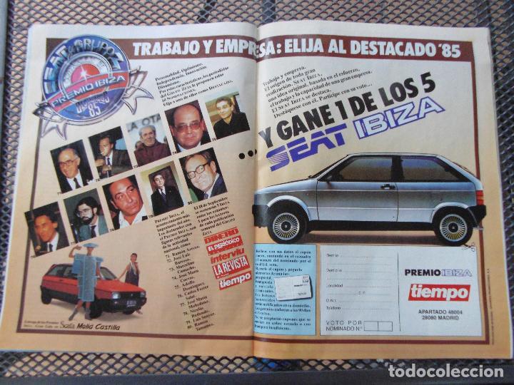 Coleccionismo de Revista Tiempo: REVISTA TIEMPO.NUM. 173 -AÑO 1985 : LA DISNEY JUEGA CON ESPAÑA- EX ETARRAS-ARZALLUS - Foto 5 - 62763700