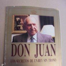 Coleccionismo de Revista Tiempo: TIEMPO COLECCIONISTAS - DON JUAN REY SIN TRONO - TIERNO GALVAN / ONETO / SENILLOSA /. Lote 63156536