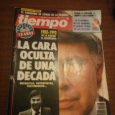 Coleccionismo de Revista Tiempo: REVISTA TIEMPO Nº 547 AÑO 1992 -LA CARA OCULTA DE UNA DECADA . Lote 63405008