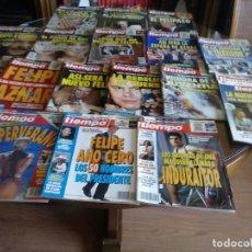 Coleccionismo de Revista Tiempo: DIECISIETE REVISTAS AÑO 1993, NUMEROS DEL 570 AL 586. Lote 64104203
