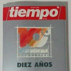 Coleccionismo de Revista Tiempo: REVISTA N°10. ANIVERSARIO SEMANARIO TIEMPO.. Lote 64107574
