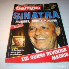 Coleccionismo de Revista Tiempo: ANTIGUA REVISTA TIEMPO - 1986 - SINATRA - ARZALLUS - ETA . Lote 65161087