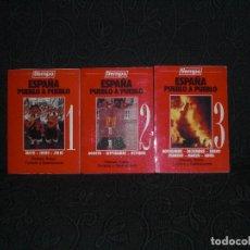 Coleccionismo de Revista Tiempo: REVISTAS TIEMPO TRILOGIA REVISTA 1,2 Y 3 I II III COMPLETO PACK LOTE LIBROS TURISMO GASTRONOMIA . Lote 65758646