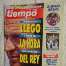 Coleccionismo de Revista Tiempo: REVISTA TIEMPO Nº 583 ,1993 -LA HORA DEL REY -BOSNIA -ESPAÑA MAGICA -MARIBEL VERDU -ISABEL PREYSLER. Lote 67180501