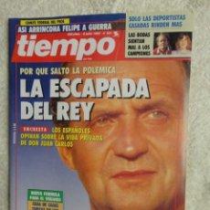 Coleccionismo de Revista Tiempo: REVISTA TIEMPO Nº 531 AÑO 1992 - LA ESCAPADA DEL REY -TARANCON -FELIPE Y GUERRA -ETA -JULIO IGLESIAS. Lote 67239957