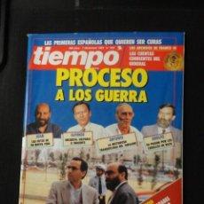 Coleccionismo de Revista Tiempo: REVISTA TIEMPO Nº 553 AÑO 1992 -PROCESO A LOS GUERRA -FRANCO 3 -BOSNIA -B.B.KING -SAINZ Y MOYA. Lote 67288453