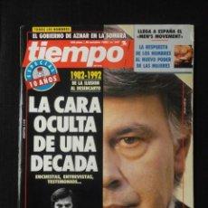 Coleccionismo de Revista Tiempo: REVISTA TIEMPO Nº 547 AÑO 1992 -LA CARA OCULTA DE UNA DECADA -CLINTON Y CUBA -BORIS YELTSIN -MADONNA. Lote 67305953