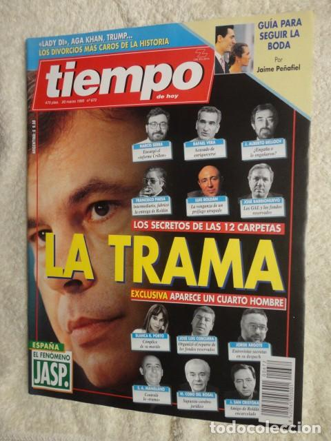 REVISTA TIEMPO Nº 672 ,1995 -LA TRAMA -CAERA LA PESETA -LADY DY -JOAQUIN CORTES -JOSE VELEZ (Coleccionismo - Revistas y Periódicos Modernos (a partir de 1.940) - Revista Tiempo)