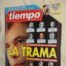 Coleccionismo de Revista Tiempo: REVISTA TIEMPO Nº 672 ,1995 -LA TRAMA -CAERA LA PESETA -LADY DY -JOAQUIN CORTES -JOSE VELEZ. Lote 67346805