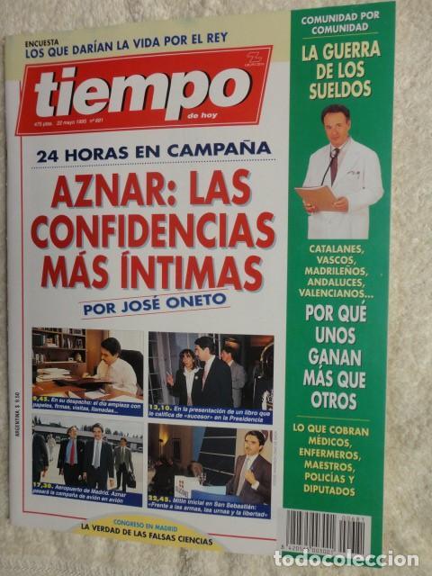 REVISTA TIEMPO Nº 681 ,1995 - GUERRA DE SUELDOS -AZNAR -AMERICA PROFUNDA -ESPARTACO -GEORG SOLTI (Coleccionismo - Revistas y Periódicos Modernos (a partir de 1.940) - Revista Tiempo)
