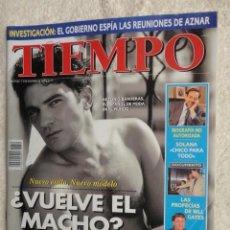 Coleccionismo de Revista Tiempo: REVISTA TIEMPO Nº 710 ,1995 -BANDERAS,EL MACHO -EL GOBIERNO ESPIA A AZNAR - SOLANA -TERENCI MOIX. Lote 67356909