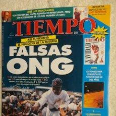 Coleccionismo de Revista Tiempo: REVISTA TIEMPO Nº 763 ,1996 -FALSAS ONG -HUELGA FUNCIONARIOS -EVITAR LOS DESPIDOS -PEDRO PIQUERAS. Lote 67359505