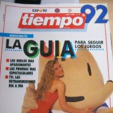 Coleccionismo de Revista Tiempo: REVISTA TIEMPO Nº 5 DE JULIO 1992. Lote 68150609