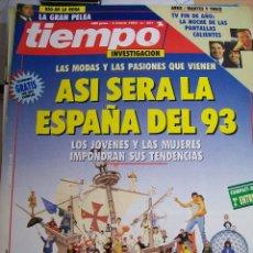 Coleccionismo de Revista Tiempo: REVISTA TIEMPO Nº 557 DE ENERO 1993. Lote 68151741