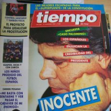 Coleccionismo de Revista Tiempo: REVISTA TIEMPO Nº 655 DE NOVIEMBRE 1994. Lote 68153037