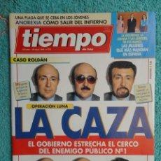 Coleccionismo de Revista Tiempo: REVISTA TIEMPO Nº 630 AÑO 1994 - CASO ROLDAN - GARZON -CRAXI -BOFILL- A. FLORES -JACKIE KENNEDY. Lote 69955665