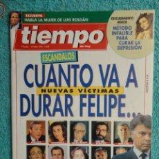 Coleccionismo de Revista Tiempo: REVISTA TIEMPO Nº 628 AÑO 1994 - 1º DE MAYO -DERRUMBE DE FELIPE -BERLUSCONI , MANDELA - TERENCI MOIX. Lote 69974301
