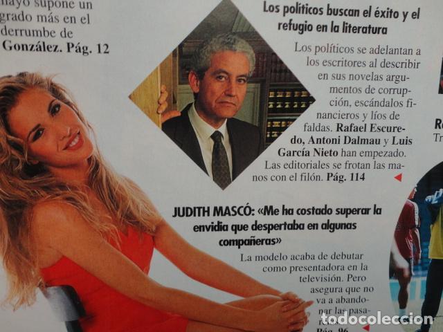 Coleccionismo de Revista Tiempo: REVISTA TIEMPO Nº 628 AÑO 1994 - 1º DE MAYO -DERRUMBE DE FELIPE -BERLUSCONI , MANDELA - TERENCI MOIX - Foto 5 - 69974301