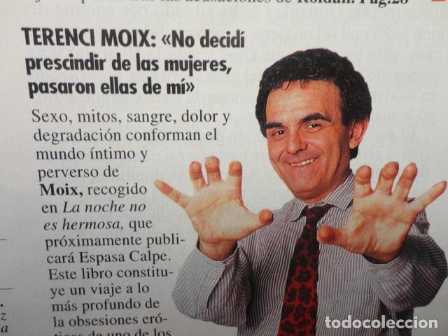 Coleccionismo de Revista Tiempo: REVISTA TIEMPO Nº 628 AÑO 1994 - 1º DE MAYO -DERRUMBE DE FELIPE -BERLUSCONI , MANDELA - TERENCI MOIX - Foto 6 - 69974301