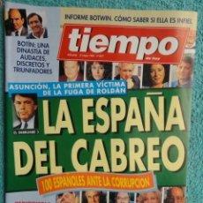 Coleccionismo de Revista Tiempo: REVISTA TIEMPO Nº 627 AÑO 1994 -LA ESPAÑA DEL CABREO -MANDELA,PRESIDENTE - DINASTIA , BOTIN. Lote 69975421