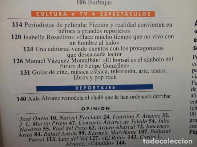 Coleccionismo de Revista Tiempo: REVISTA TIEMPO Nº 627 AÑO 1994 -LA ESPAÑA DEL CABREO -MANDELA,PRESIDENTE - DINASTIA , BOTIN - Foto 3 - 69975421