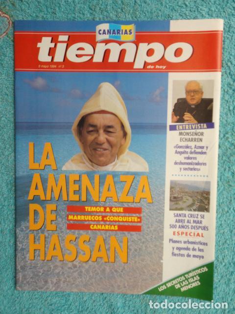 Coleccionismo de Revista Tiempo: REVISTA TIEMPO Nº 627 AÑO 1994 -LA ESPAÑA DEL CABREO -MANDELA,PRESIDENTE - DINASTIA , BOTIN - Foto 4 - 69975421