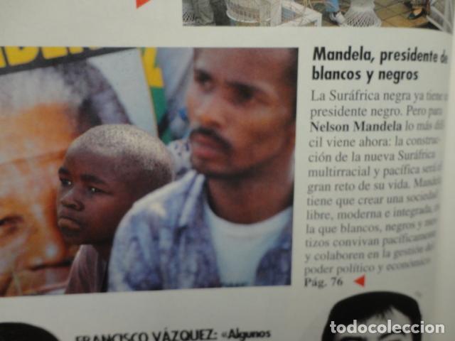 Coleccionismo de Revista Tiempo: REVISTA TIEMPO Nº 627 AÑO 1994 -LA ESPAÑA DEL CABREO -MANDELA,PRESIDENTE - DINASTIA , BOTIN - Foto 6 - 69975421