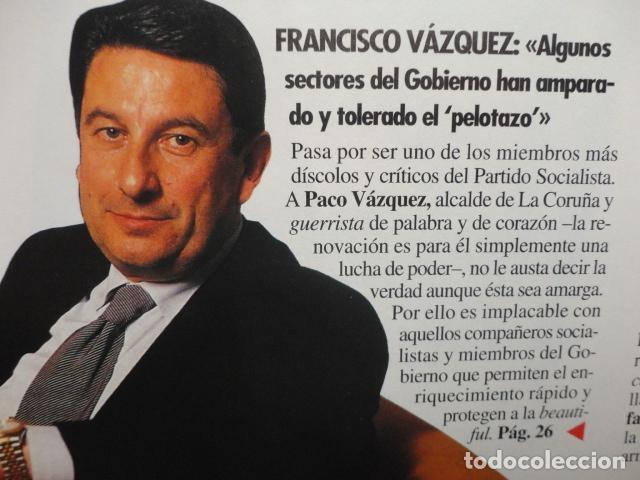 Coleccionismo de Revista Tiempo: REVISTA TIEMPO Nº 627 AÑO 1994 -LA ESPAÑA DEL CABREO -MANDELA,PRESIDENTE - DINASTIA , BOTIN - Foto 7 - 69975421