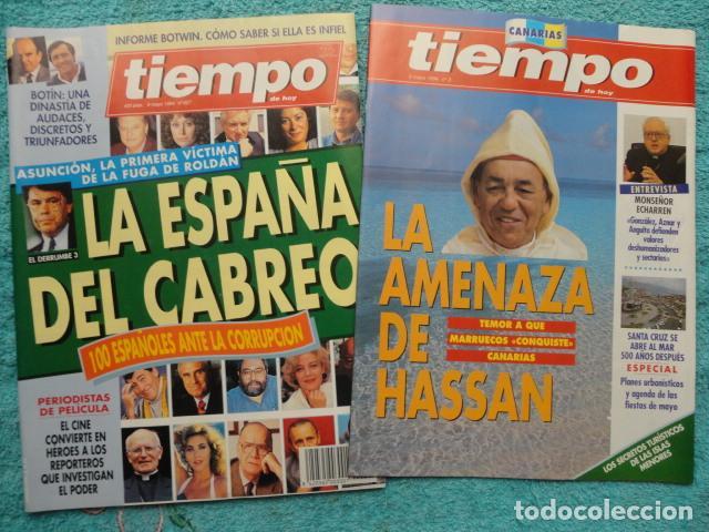 Coleccionismo de Revista Tiempo: REVISTA TIEMPO Nº 627 AÑO 1994 -LA ESPAÑA DEL CABREO -MANDELA,PRESIDENTE - DINASTIA , BOTIN - Foto 9 - 69975421