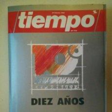 Coleccionismo de Revista Tiempo: REVISTA TIEMPO DE HOY - ESPECIAL 10º ANIVERSARIO, 1982-1992 - GRUPO ZETA, 24 DE FEBRERO DE 1992. Lote 74913335