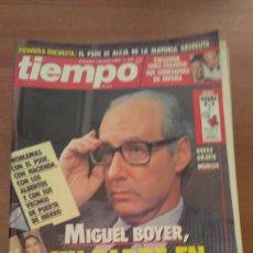 Coleccionismo de Revista Tiempo: LOTE DE 11 REVISTAS DE TIEMPO - Nº EN EL INTERIOR . Lote 76011623