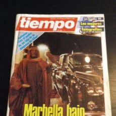 Coleccionismo de Revista Tiempo: REVISTA TIEMPO. AGOSTO 1984. MARBELLA DUQUESA DE ALBA. Lote 77528245