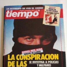 Coleccionismo de Revista Tiempo: REVISTA TIEMPO - 27 NOVIEMBRE 1989 - Nº 395 - LA CONSPIRACIÓN DE LAS TRAMAS NEGRAS. Lote 78534253