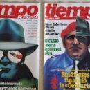 Coleccionismo de Revista Tiempo: LOTE DE REVISTAS TIEMPO DE HOY - PRIMEROS NÚMEROS AÑOS 1981 1982 - NO SE DESHACE EL LOTE . Lote 80036165