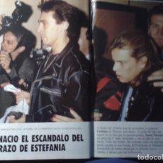 Coleccionismo de Revista Tiempo: ESTEFANIA - ANA OBREGON. Lote 84127272