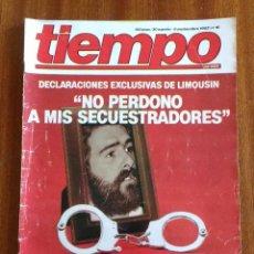 Coleccionismo de Revista Tiempo: REVISTA TIEMPO Nº 16-1982 - ENTREVISTA A FRANCISCO LIMOUSIN - ANGEL SOPEÑA - RAFAEL RULLAN - FELLINI. Lote 84941688