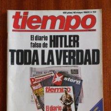 Coleccionismo de Revista Tiempo: REVISTA TIEMPO Nº 53-1983 - HITLER TODA LA VERDAD - MANUEL GERENA - EL ATHLETIC RAZA DE CAMPEONES. Lote 84968000