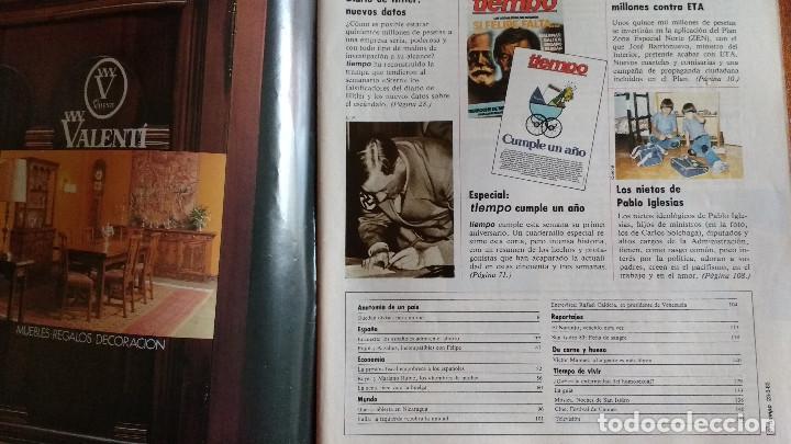 Coleccionismo de Revista Tiempo: REVISTA TIEMPO Nº 54-1983 - VICTOR MANUEL - FELIPE GONZALEZ (1) - PUBLICIDAD PEGASO-RICARD - Foto 4 - 84968996