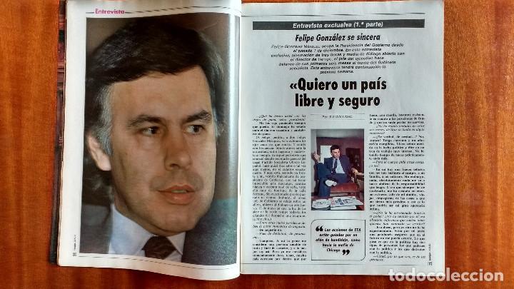 Coleccionismo de Revista Tiempo: REVISTA TIEMPO Nº 54-1983 - VICTOR MANUEL - FELIPE GONZALEZ (1) - PUBLICIDAD PEGASO-RICARD - Foto 6 - 84968996
