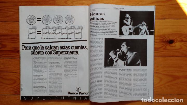 Coleccionismo de Revista Tiempo: REVISTA TIEMPO Nº 54-1983 - VICTOR MANUEL - FELIPE GONZALEZ (1) - PUBLICIDAD PEGASO-RICARD - Foto 10 - 84968996