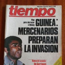 Coleccionismo de Revista Tiempo: REVISTA TIEMPO Nº 56-1983 - POSTER CENTRAL WINSTON - JAVIER CLEMENTE - JUSTO FERNANDEZ UGT. Lote 84971112