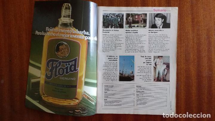 Coleccionismo de Revista Tiempo: REVISTA TIEMPO Nº 56-1983 - POSTER CENTRAL WINSTON - JAVIER CLEMENTE - JUSTO FERNANDEZ UGT - Foto 2 - 84971112