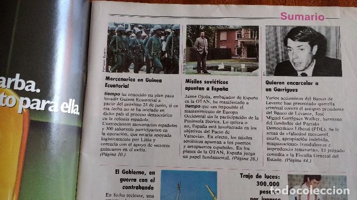 Coleccionismo de Revista Tiempo: REVISTA TIEMPO Nº 56-1983 - POSTER CENTRAL WINSTON - JAVIER CLEMENTE - JUSTO FERNANDEZ UGT - Foto 3 - 84971112