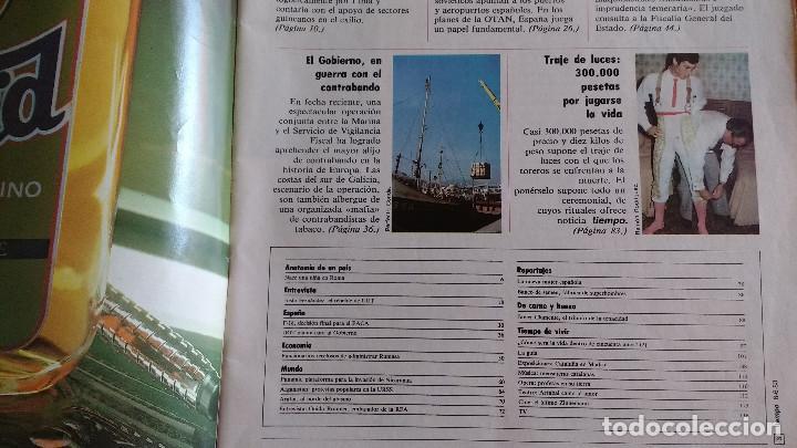 Coleccionismo de Revista Tiempo: REVISTA TIEMPO Nº 56-1983 - POSTER CENTRAL WINSTON - JAVIER CLEMENTE - JUSTO FERNANDEZ UGT - Foto 4 - 84971112