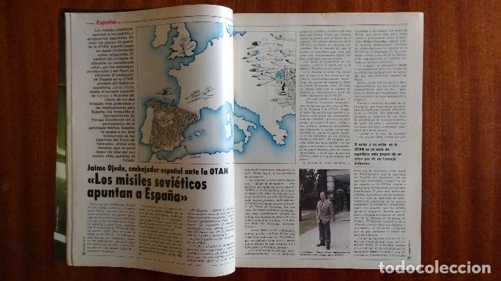 Coleccionismo de Revista Tiempo: REVISTA TIEMPO Nº 56-1983 - POSTER CENTRAL WINSTON - JAVIER CLEMENTE - JUSTO FERNANDEZ UGT - Foto 5 - 84971112